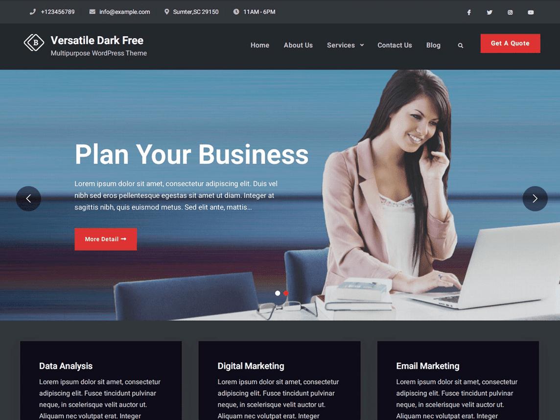 Versatile Business Dark