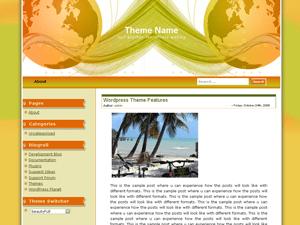 Free Corporate Globe Wordpress Theme Reviewed Justfreethemes